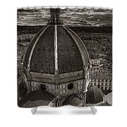 Duomo Dalla Campanile  Shower Curtain