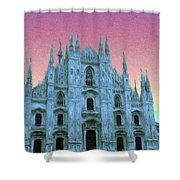 Duomo Di Milano Shower Curtain
