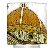 Duomo Florence Italy Shower Curtain