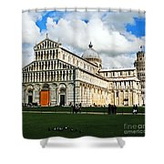 Duomo Of Field Of Dreams Shower Curtain
