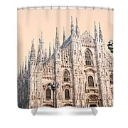 Duomo Of Milan Shower Curtain