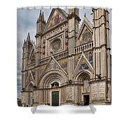Duomo Orvieto Italy Shower Curtain