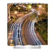 Dupont Circle Traffic I Shower Curtain