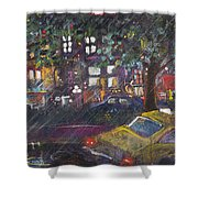 Dupont In The Rain Shower Curtain