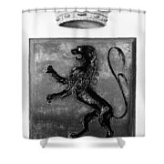 Duquesne Coat Of Arms Shower Curtain