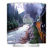 Durango To Silverton Shower Curtain