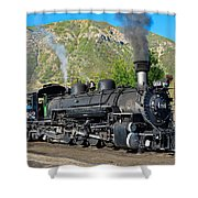 Durango To Silverton Train Shower Curtain