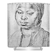 Durer Slave Woman, 1521 Shower Curtain