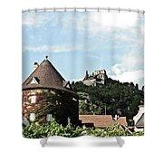 Durnstein Castle Shower Curtain