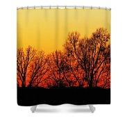 Dusk 1 Shower Curtain