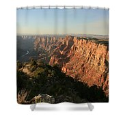 Dusk At The Canyon Shower Curtain