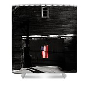 Dusk Dims Not Her Colors Shower Curtain by Wayne King