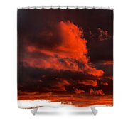 Dusk Falls On The Canyon Shower Curtain