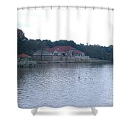 Dusk Lake D Shower Curtain