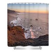 Dusk On The Northcoast Shower Curtain