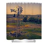 Dusk On The Prairie Shower Curtain