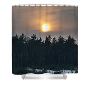 Dusky Sunset Shower Curtain