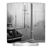 Dust Bowl, 1936 Shower Curtain