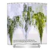 Dust To Dust Shower Curtain