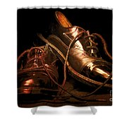 Dusty Dancing Shoes Shower Curtain