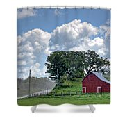 Dusty Road Shower Curtain