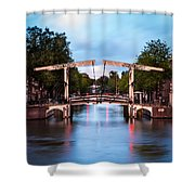 Dutch Bridge Shower Curtain