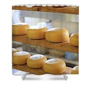 Dutch Cheese Shower Curtain