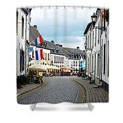 Dutch Cityscape - Thorn Shower Curtain