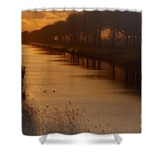 Dutch Landscape Shower Curtain