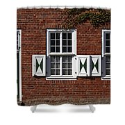 Dutch Neighborhood In Potsdam Shower Curtain