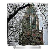 Dutch Reformed Church Tower In Enkhuizen-netherlands Shower Curtain