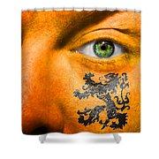 Dutch Royal Lion Shower Curtain
