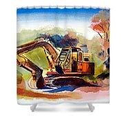 Duty Dozer II Shower Curtain by Kip DeVore