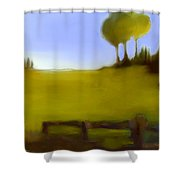 Duxbury Golf Course  Number 6-6 Shower Curtain