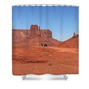 Dwarfed Shower Curtain