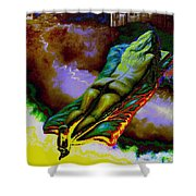 Dwelling In Erotic Pleaseure Shower Curtain