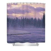 D.wiggett Kluane Np, Scenic, Yt Shower Curtain