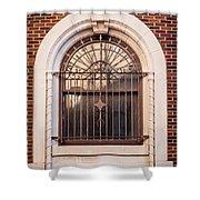 Dwyer Street Window Shower Curtain