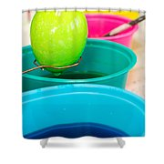 Dying Easter Eggs Shower Curtain