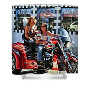 Dykes On Trikes  Shower Curtain