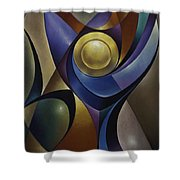 Dynamic Chalice Shower Curtain
