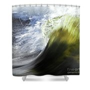 Dynamic River Wave Shower Curtain