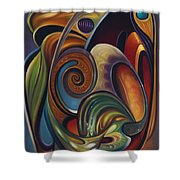Dynamic Series #16 Shower Curtain