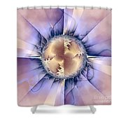 Dynamism Shower Curtain
