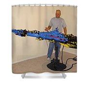 Dynonochus 1 Shower Curtain