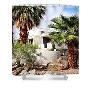 E. Stewart Williams Home Palm Springs Shower Curtain