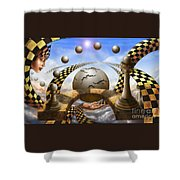 Each Pawn Dreams To Become A Queen Shower Curtain