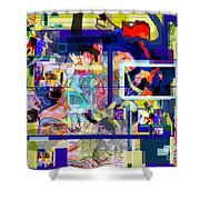 Each Positive Step Is Vital 2 Shower Curtain by David Baruch Wolk