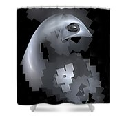 Eagle 0613 Marucii Shower Curtain