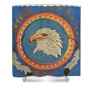 Spirit Of Sacred Healing - Mi Gi Si' Shower Curtain